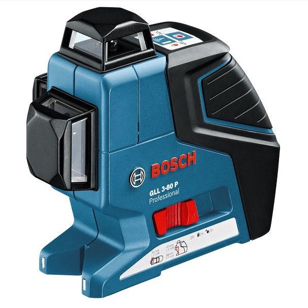Křížový laser Bosch GLL 3-80 Professional, Stativ bez stativu, Laserové brýle brýle 1ks, Typ sady Standardní sada