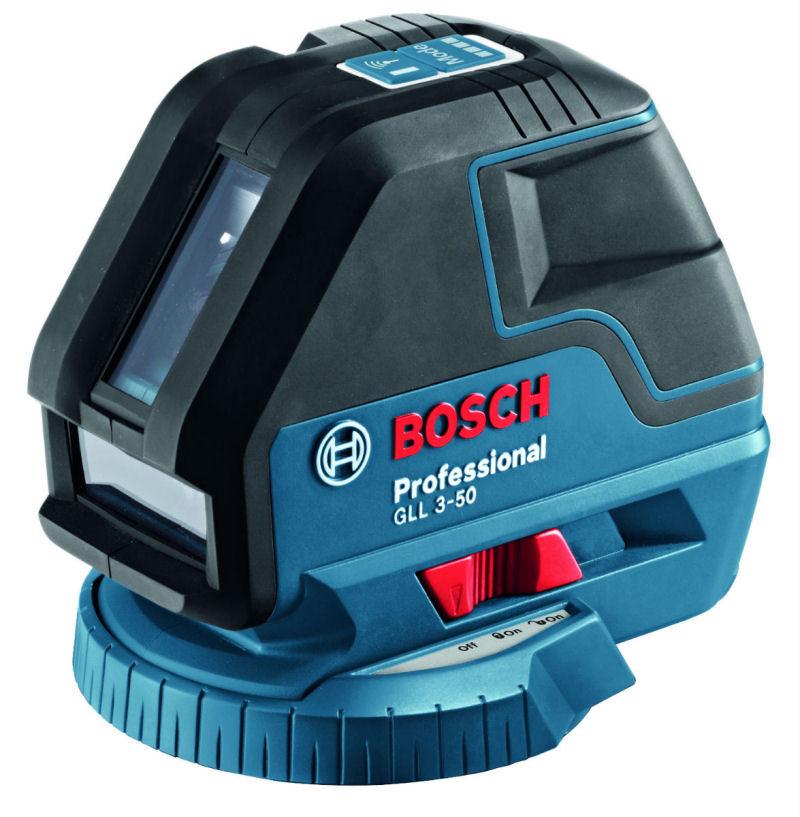 Křížový laser Bosch GLL 3-50 Professional, Stativ bez stativu, Laserové brýle brýle 1ks, Typ sady Standardní sada