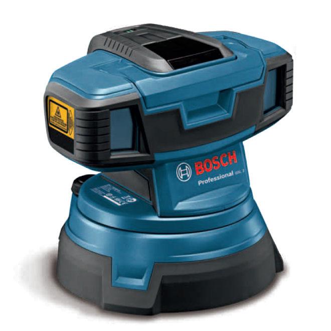 Podlahový laser Bosch GSL 2 Professional, Typ sady Standardní sada