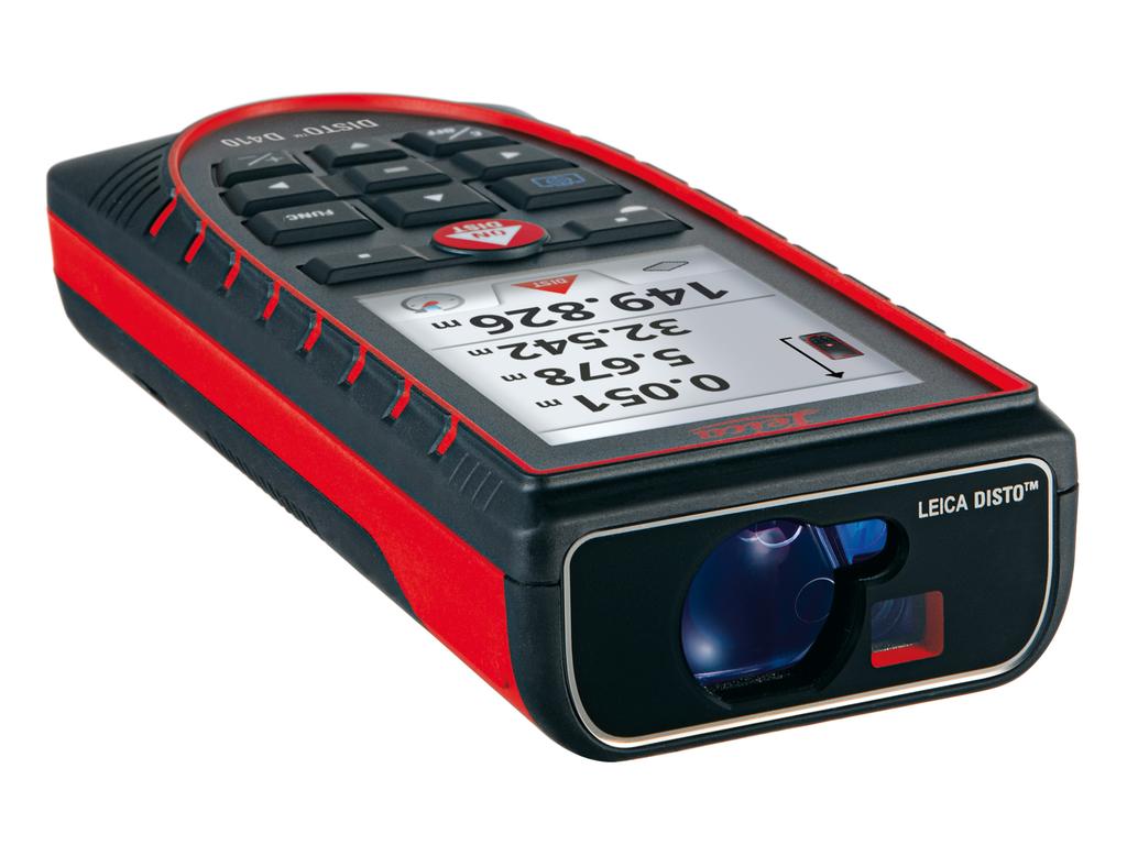 Laserový dálkoměr Leica Disto D410, Laserové brýle brýle 1 ks, Fotostativ bez stativu, Příslušenství Leica adaptér FTA360