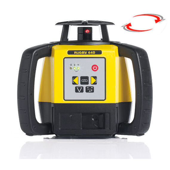 Stavební laser pro interiér i exteriér, Přijímač Rod Eye 160, Lať bez laserové latě, Stativ robustní hliníkový stativ (1,65m)