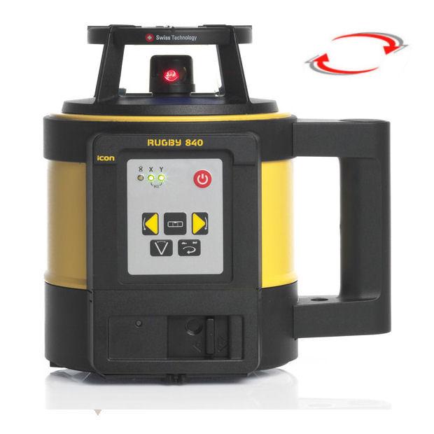 Stavební laser pro interiér i exteriér, Lať bez laserové latě, Stativ bez stativu, Dálkový ovladač RC400