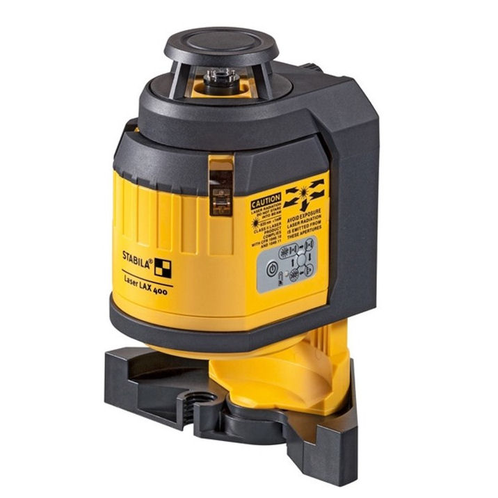 Křížový stavební laser Stabila LAX-400, Přijímač Ne, Lať bez laserové latě, Stativ bez stativu
