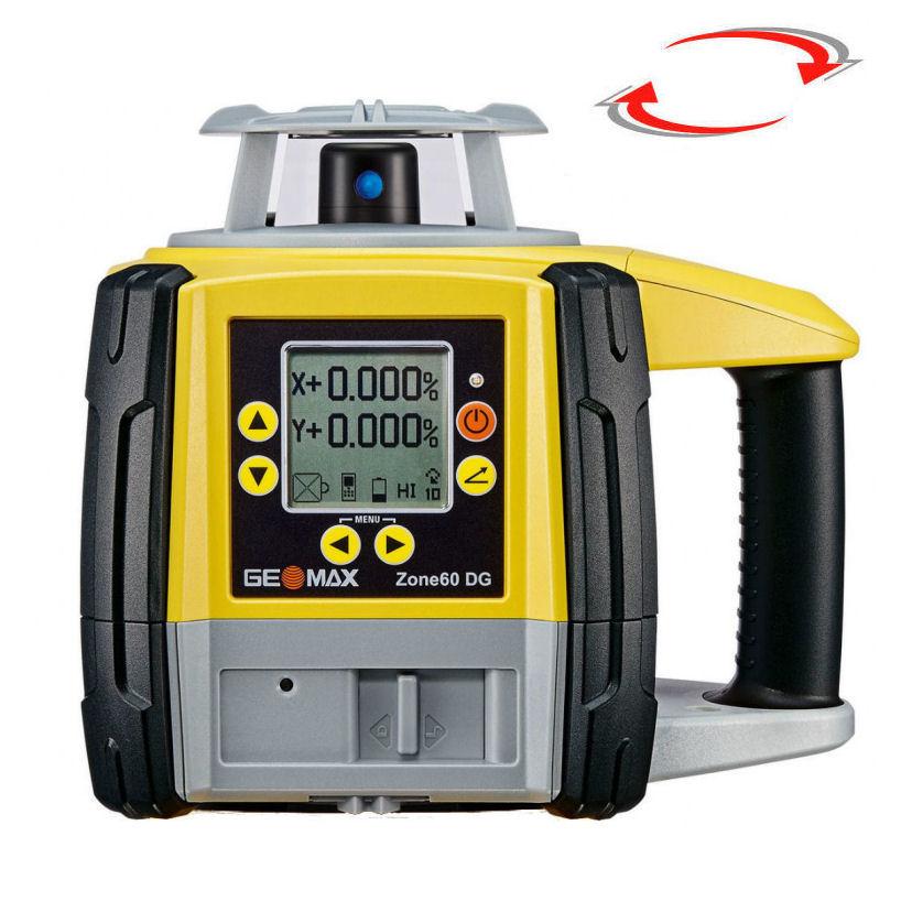 Sklonový laser pro exteriér, Přijímač ZRD105B, Lať laserová lať s posuvným jezdcem TLL-1, Stativ bez stativu