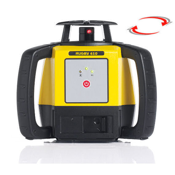 Horizontální rotační laser pro exteriér, Přijímač Rod Eye Basic (v ceně), Lať bez laserové latě, Stativ bez stativu