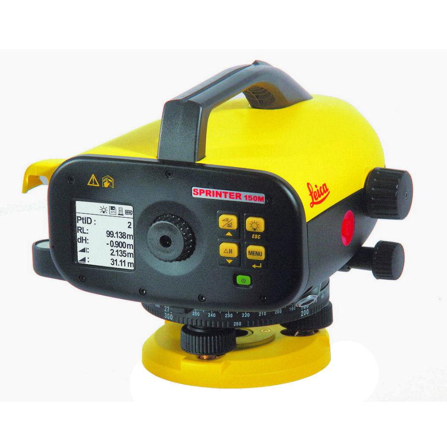 Digitální nivelační přístroj Leica Sprinter 150M, Nivelační podložka podložka 2 ks, Dodávka Standardní sada