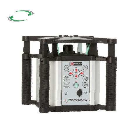 Univerzální laser pro interiér se zeleným paprskem, Přijímač DR (v ceně), Lať bez laserové latě, Stativ bez stativu