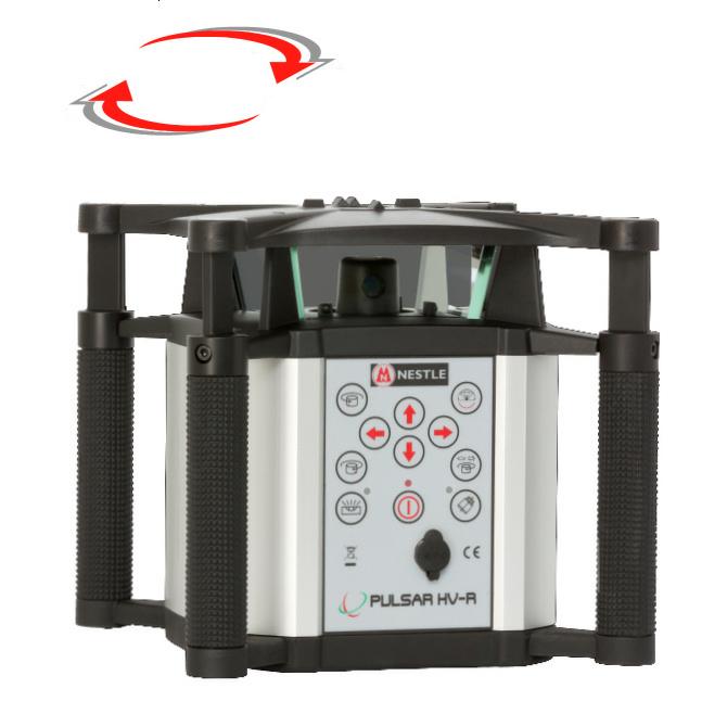 Univerzální laser pro interiér i exteriér, Přijímač PDR 60 (v ceně), Lať laserová lať s posuvným jezdcem TLL-1, Stativ robustní hliníkový stativ (1,65m)