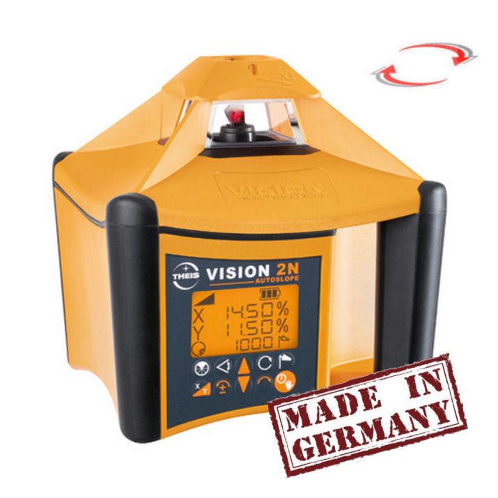 Sklonový laser Theis Vision 2N Autoslope, Přijímač TE-6 (v ceně), Lať bez laserové latě, Stativ bez stativu